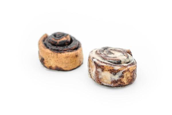 Cinnamon rolls - Chocolate (box of 4 pieces)
