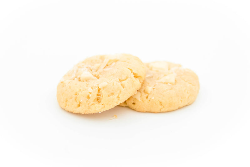 Cookies - White chocolate macadamia (jar of 9 pieces)