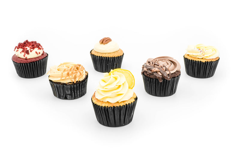 Cupcakes - Assorted  (box of 12 pieces)