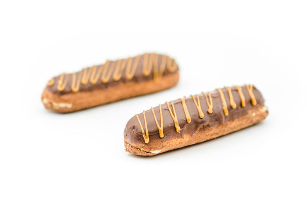 Eclairs - Peanut butter
