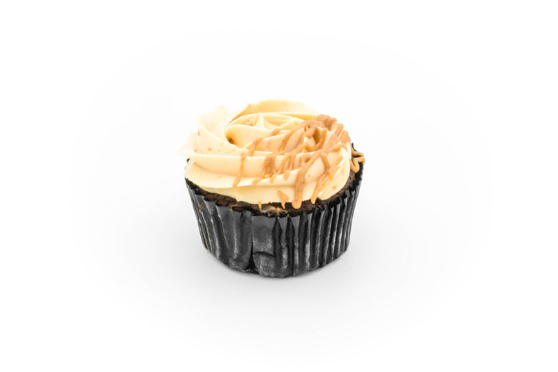 Cupcakes - Chocolate with peanut butter SMBC