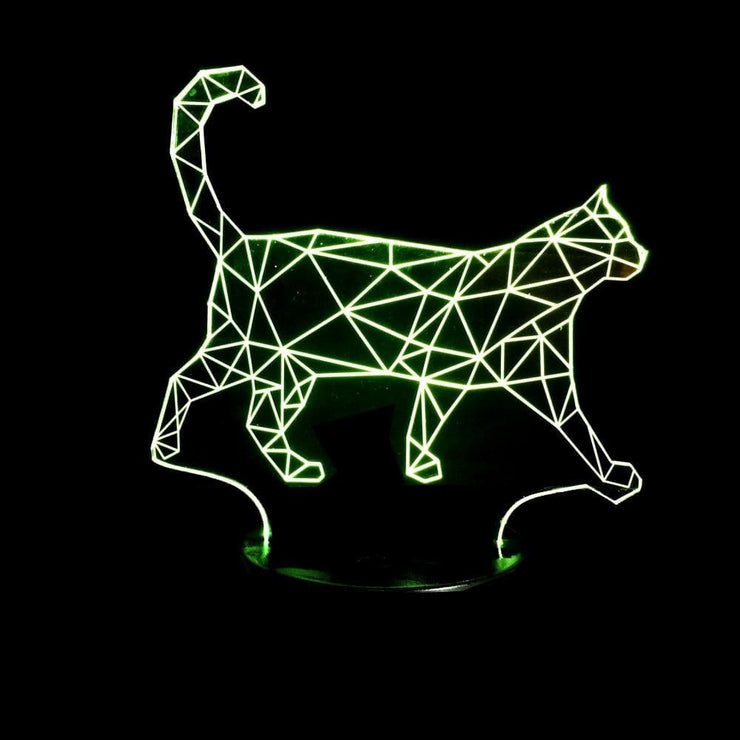 Lampe-3D-chat-couleur-jaune