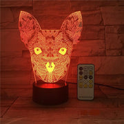 Lampe-de-bureau-chat-couleur-rouge