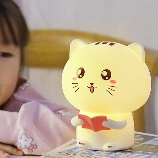 Veilleuse lampe<br>chat