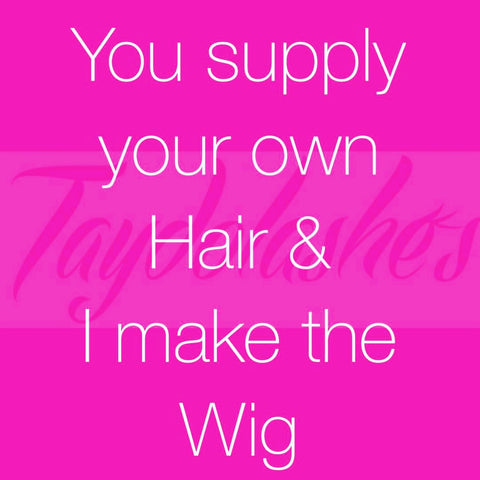 Wig made to order