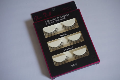 Honey 3D strip lashes