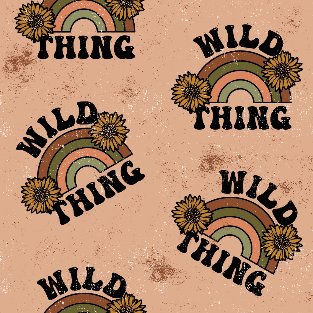 PRE ORDER Wild Thing