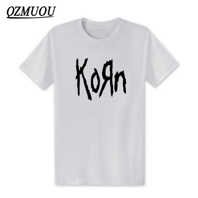 d78829cd0 ... Load image into Gallery viewer, New Fashion 2019 Korn Metal Rock band  Logo Graphic T ...