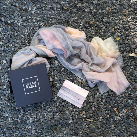 Cottesloe Cotton Linen Scarf Gift Box