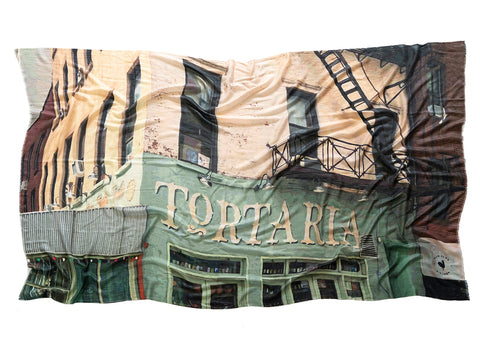 Greenwich Village Wool Silk Scarf