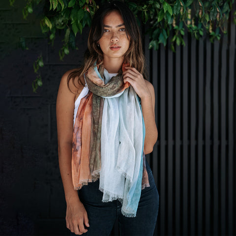 Broome Cotton Linen Scarf