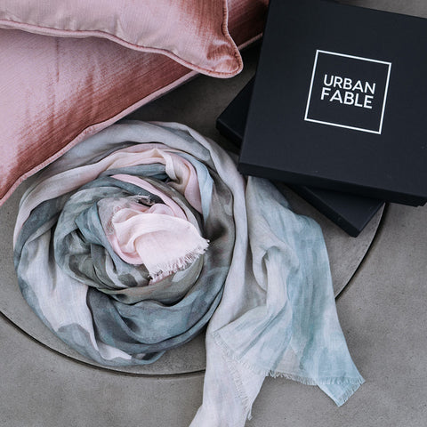 The Basin Cotton linen Scarf