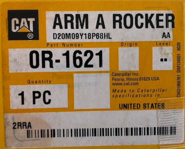 New Caterpillar Reman rocker arm 0R1621 (2302621, 1546388)