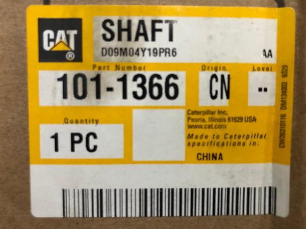 New Caterpillar shaft 1011366 - Yellow Power International