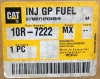 New Caterpillar Reman fuel injector 10R7222 (3879433, 3282574, 2934072, 20R8064) - Yellow Power International