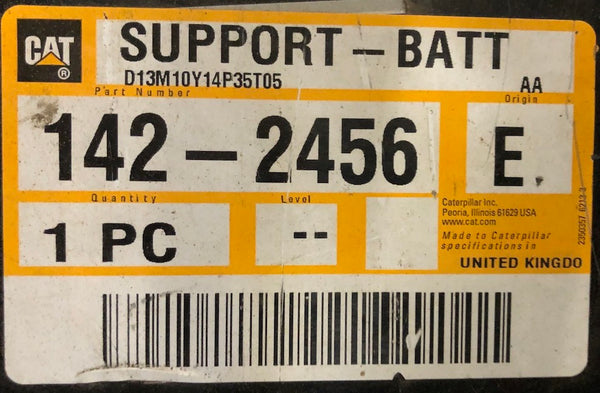New Caterpillar battery support 1422456 - Yellow Power International