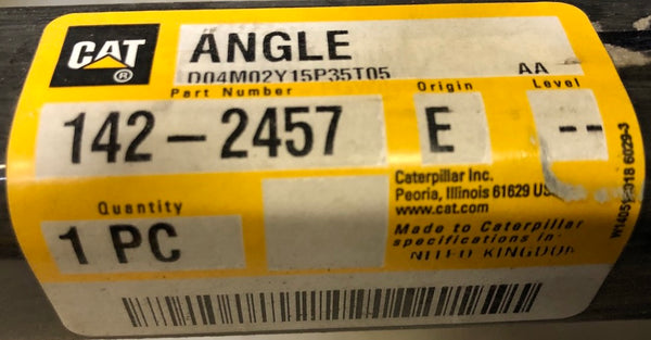 New Caterpillar angle for battery rack 1422457 - Yellow Power International