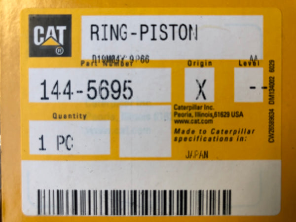 New Caterpillar piston ring 1445695 (1238216) - Yellow Power International