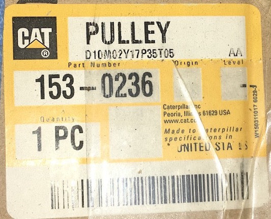 New Caterpillar pulley 1530236 - Yellow Power International