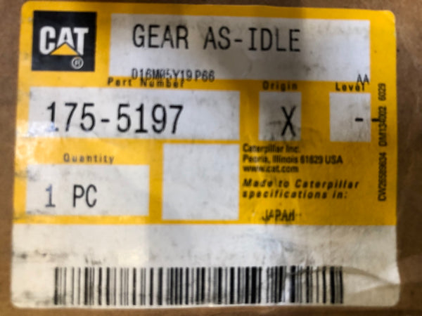 New Caterpillar gear 1755197 - Yellow Power International