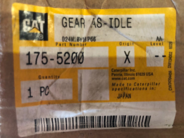 New Caterpillar gear 1755200 - Yellow Power International