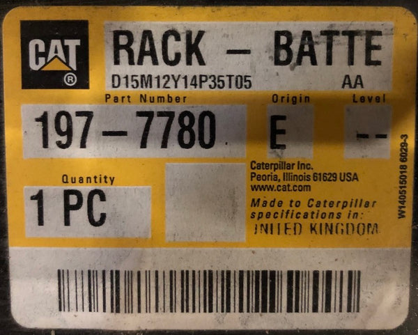 New Caterpillar battery rack 1977780 - Yellow Power International