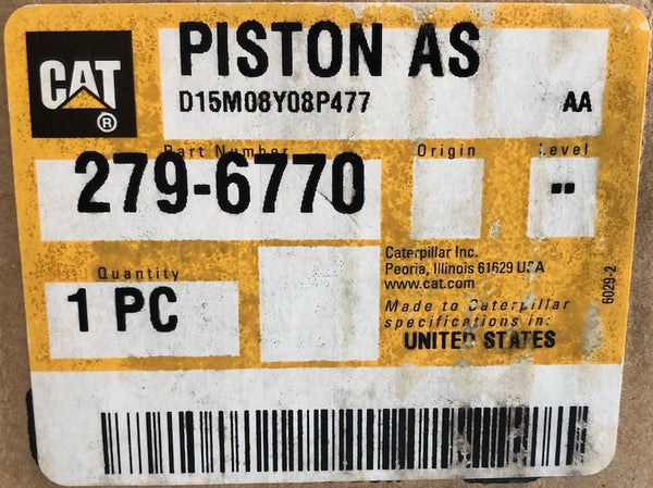 New Caterpillar piston crown assembly 2796770 (2494512) - Yellow Power International