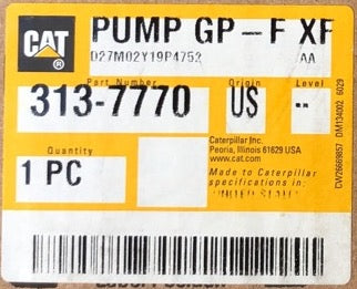 New Caterpillar fuel transfer pump 3137770 (2681900, 10R9838, 10R3689) - Yellow Power International