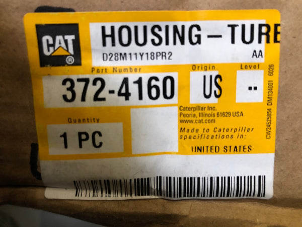 New Caterpillar turbo housing 3724160 (3491201, 2902484, 2511278) - Yellow Power International