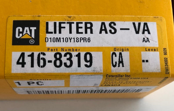 New Caterpillar lifter (valve) 4168319 (2636674, 20R1626) - Yellow Power International