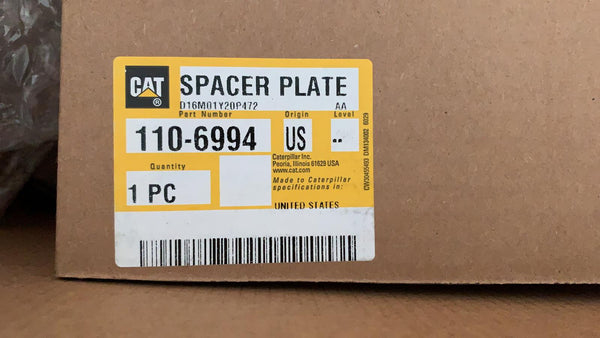 New Caterpillar spacer plate 1106994 (9Y1485, 8N6864)