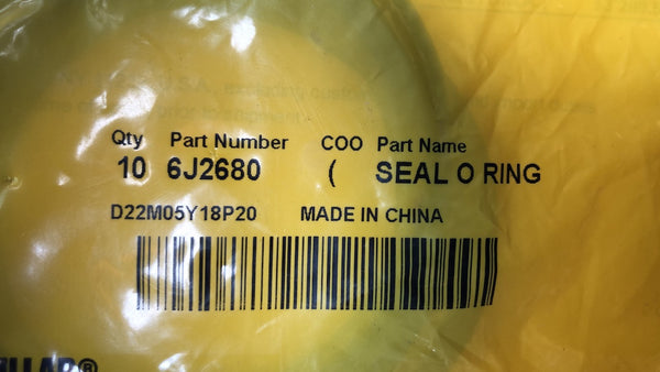 New Caterpillar seal-o-ring 6J2680 - 10 pieces - Yellow Power International