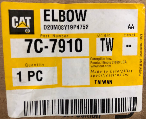 New Caterpillar elbow 7C7910 - Yellow Power International