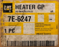 New old stock Caterpillar jacket water heater group 7E6247 (7C1710) - Yellow Power International