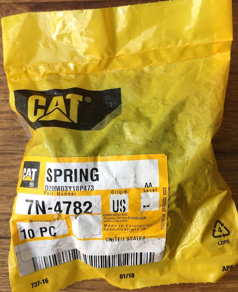 New Caterpillar lifter spring 7N4782 - 10 pieces - Yellow Power International