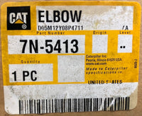 New old stock Caterpillar elbow 7N5413 - Yellow Power International