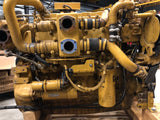 Used Caterpillar C9 marine auxiliary engine serial nr. C9A00301 rated 253 BHP / 189 BkW at 1500 rpm - Yellow Power International