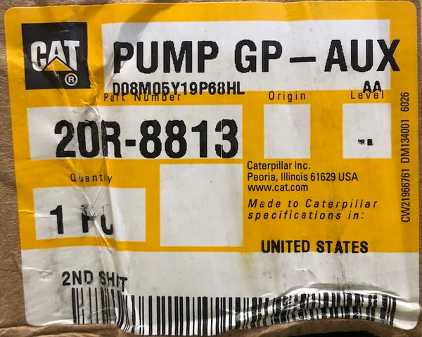 New Caterpillar Reman water pump 20R8813 (10R1072, 4243625, 2914311, 2128166)