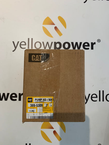New Caterpillar water pump as 3895309