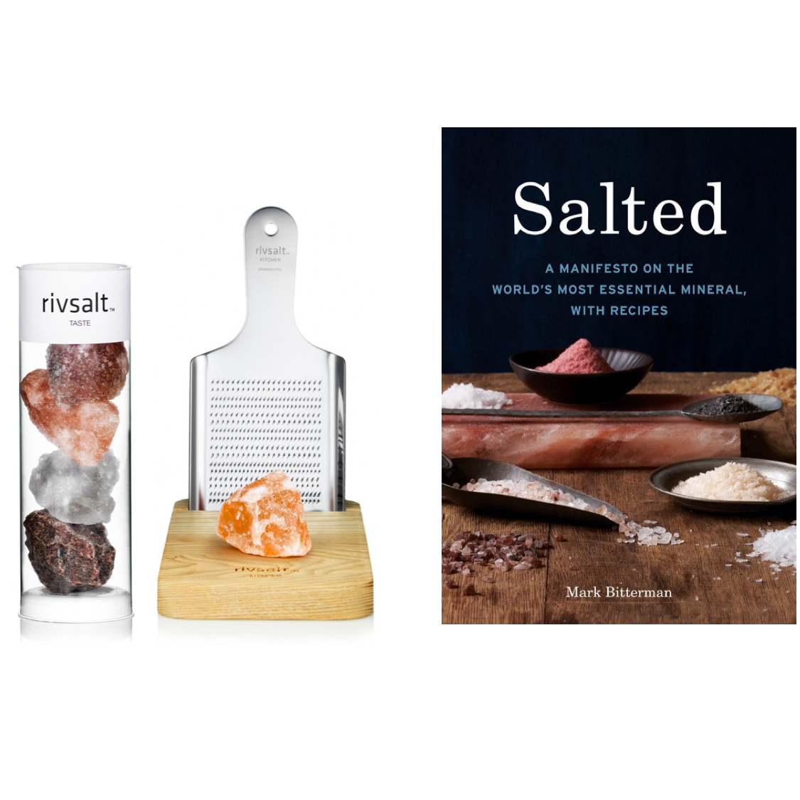 BOOK OFFER - SALTED