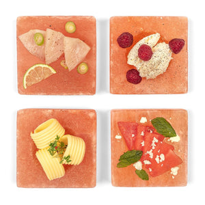 020 FREEZE & SERVE - HIMALAYAN SALT PLATES