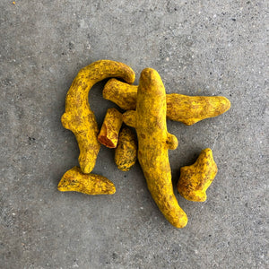 017 TURMERIC - PREMIUM SUN DRIED ROOTS