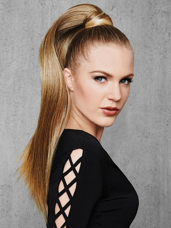 25″ Straight Wrap around ponytail