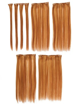"EASIXTEND ELITE 16"" HUMAN HAIR 8 PIECES"