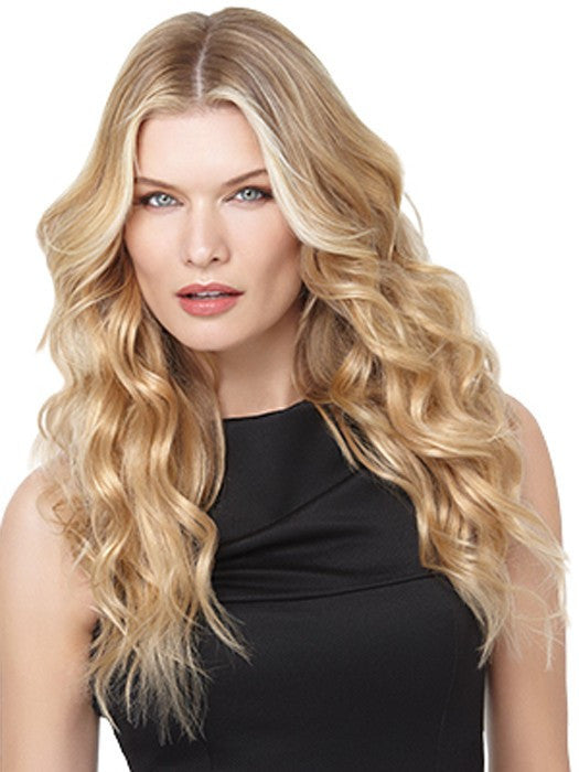 "18"" 100% REMY HUMAN HAIR EXTENSIONS 10PC"