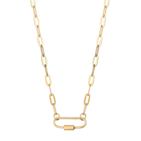 chunky necklace - seol gold
