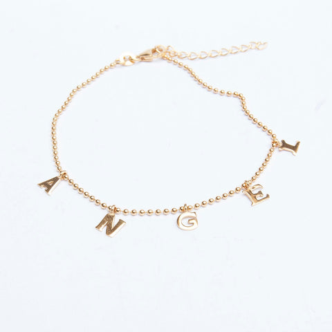 Seol + Gold halloween inspiration angel anklet