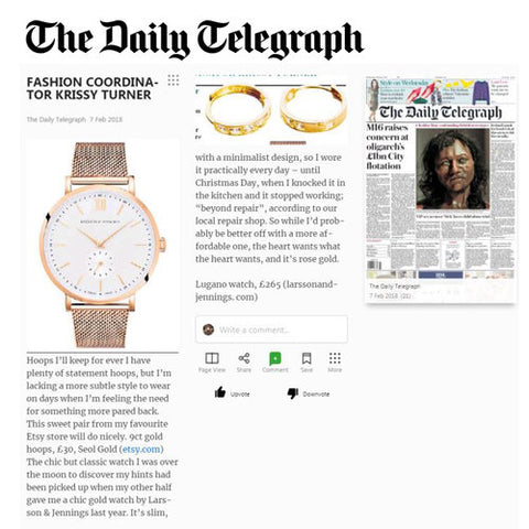 The Daily Telephraph Seol Gold Feature
