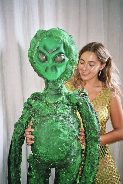 Seol Gold alien costume