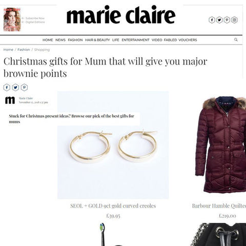 Marie Claire Seol+Gold feature